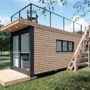 20ft prefab shipping container house luxury design