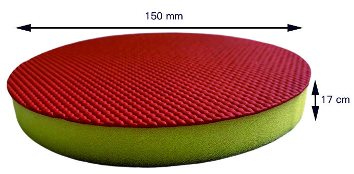AE Wholesale 6 Inch 150mm Clay Pad Auto Detailing Car Care Products Clay Foam Pad