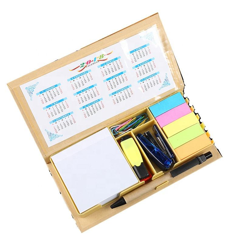 Customised Novelty Student Stationery Items Combined Printed Memo Sticky Notes set