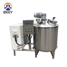 Factory Customized 500 Liters Milk Cooling Tank with agitator for Milk Yogurt