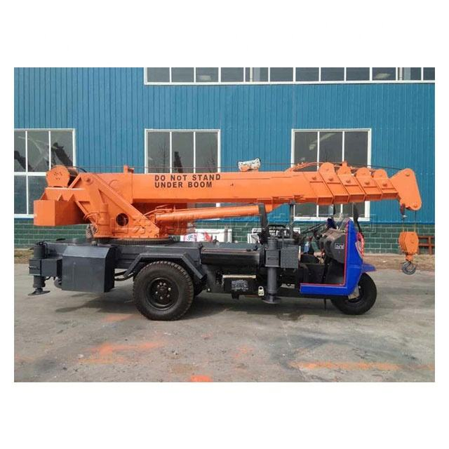 5 ton truck crane with spiral drill telescopic boom truck mounted crane Telescoping Boom truck mounted crane for sale
