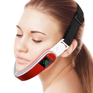 Facial Electronic PULSE Massager TENS ต่ำความถี่ Magnetic therapy ไฟฟ้าหนอน Facial Massager