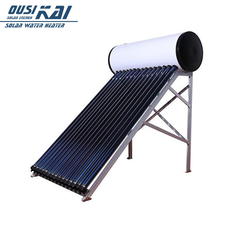 OUSIKAI Brand Solar Energy Thermal Water Heater with Heat Pipes