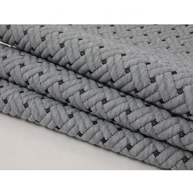 Polyester Mattress Knitted Jacquard Ticking Fabric