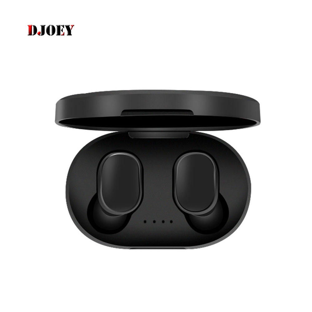 bluetooth headphones wireless For Xiaomi black for Redmi Airdots TWS 5.0 Earphone Stereo Headset Touch Control Mic Earbuds