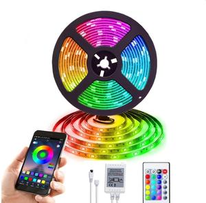 RGB LED strip light wireless wifi remote control clexible 3m 5m 10m 5050 SMD waterproof led strips