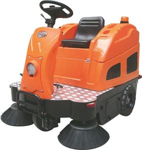 OS-V2 electric floor sweeper for parking lot