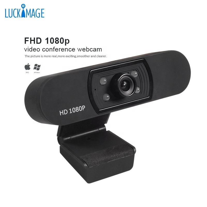 Luckimage Hot Selling 1080P 2MP Webcam Sticker Pc Camera