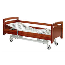 Wooden 3 functions hospital electric home care bed for elder