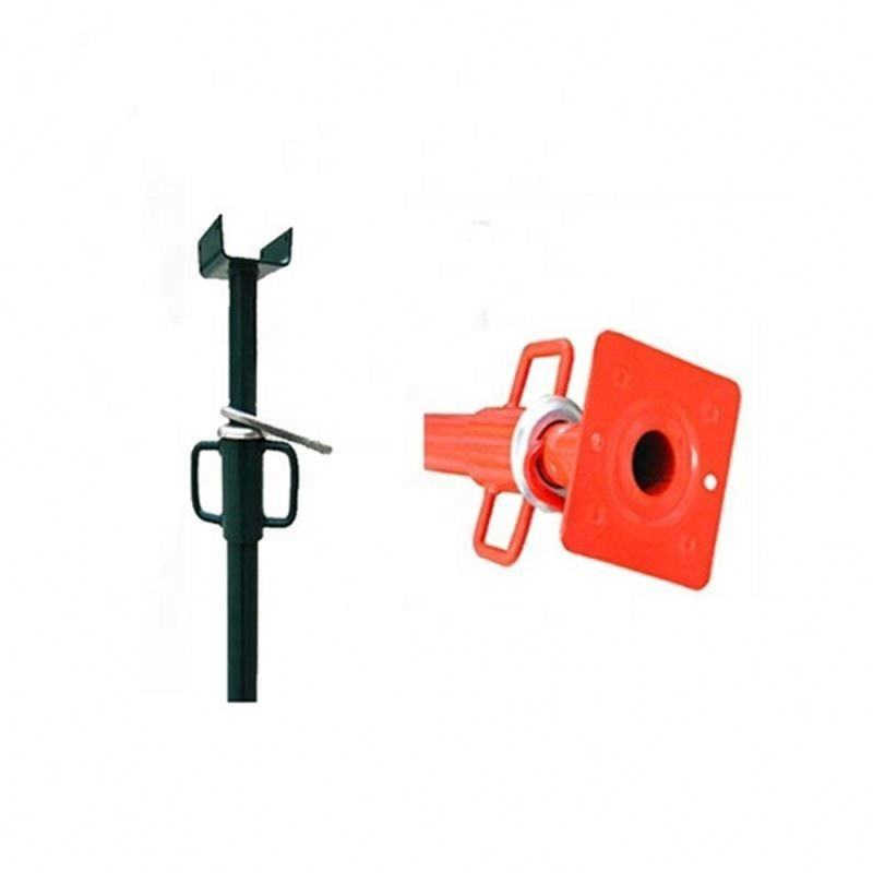 Scaffolding Shoring Props Parts Screw Thread Tube Formwork Props Q235 Steel Office Building Galvanized Painted HGG Powder Casted