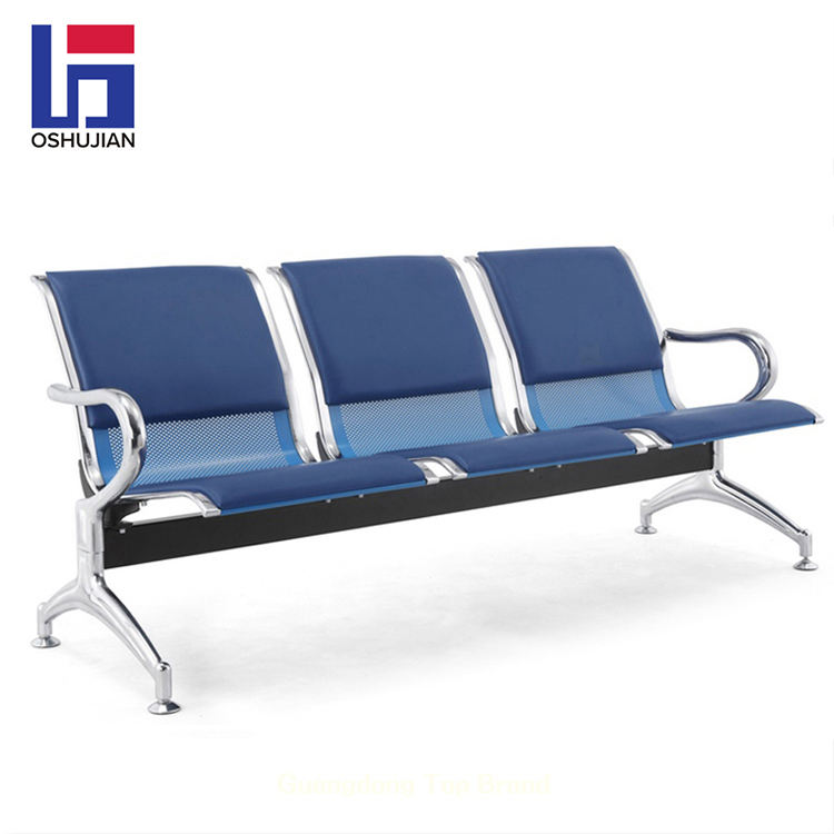 Hospital clinic airport waiting lounge bank 3-seater waiting room gang seating chair