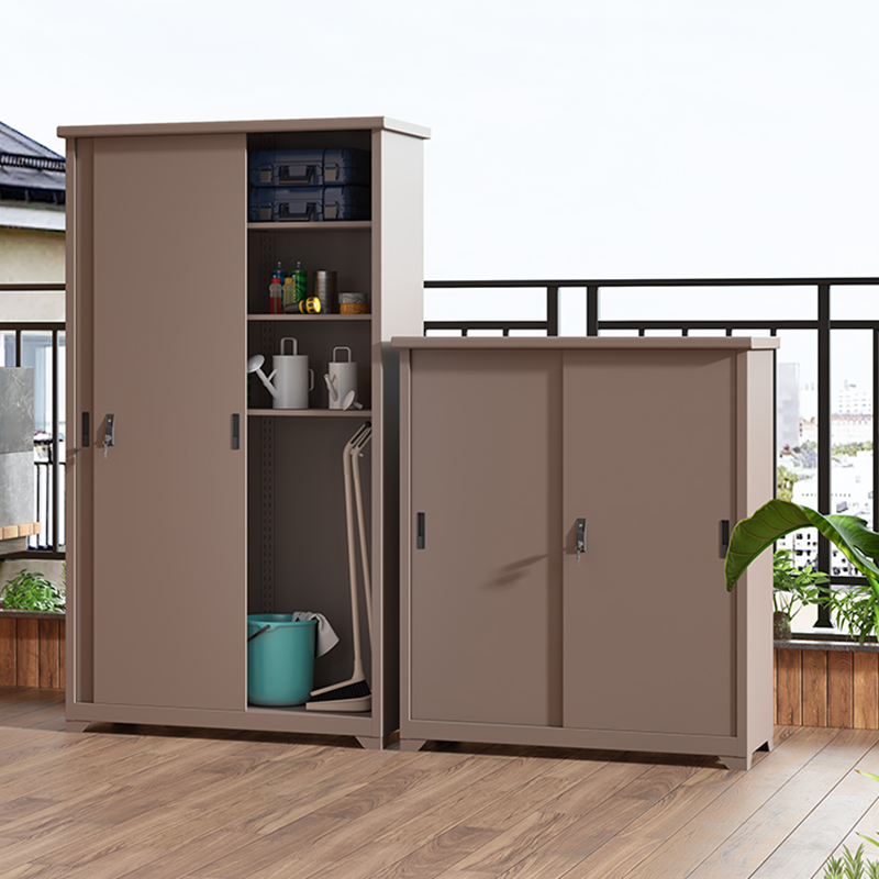 Home furniture garden tools storage cabinet waterproof design
