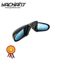 Trade Assurance Carbon Fiber Mirror Replacement Fit For 1996-2000 EK 3DR Hatchback SP Style Side Mirror