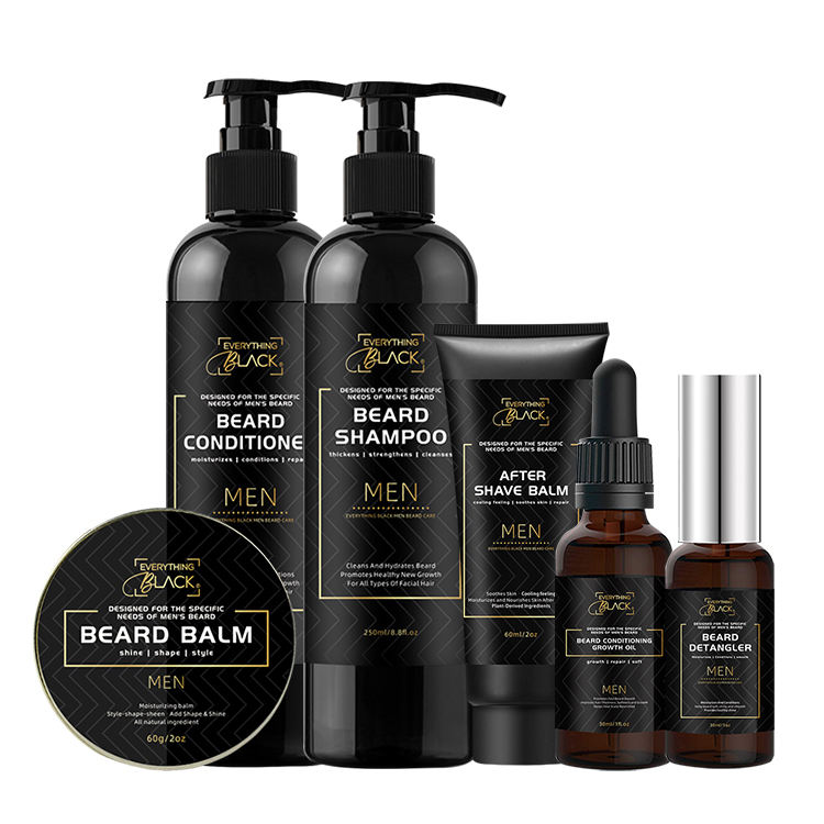 Private Label Natural Hair Bart <span class=keywords><strong>wachstum</strong></span> Pflege Kit