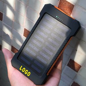 Kostenlose Probe!!! Outdoor 20000mah Solar Power Banken Großhandel Solar Power Bank Fabrik Preis Solar Panel Power Bank
