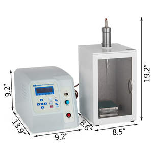 20KHz אולטרסאונד Homogenizer Sonicator 450W 10-300ml טיימר מעורר Emulsify פרו