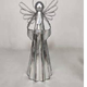Angel Metal Christmas Angel W/ Candle Holder