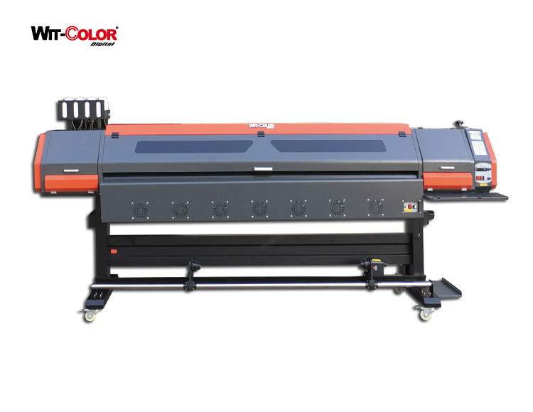 WitColor Ultra9100 2301S / 2302S 1.8 m Eco Solvent Printer with DX5 Printheads