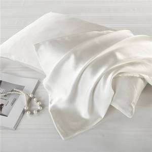 High Quality Silk Pillowcases Made Of Double Sided Silk Customized Pillowcase Cover