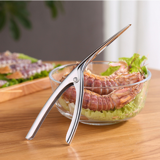 Seafood Tool Stainless Steel Kitchen Seafood Shell Tool Shrimp Prawn Deveiners Peeler Tool