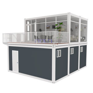 Goedkope Moderne Luxe Stalen Frame 20 Ft 40 Ft Prefab Opvouwbare Hoop Huis Snelle Bouwen Huizen Container Chinese Home Made video