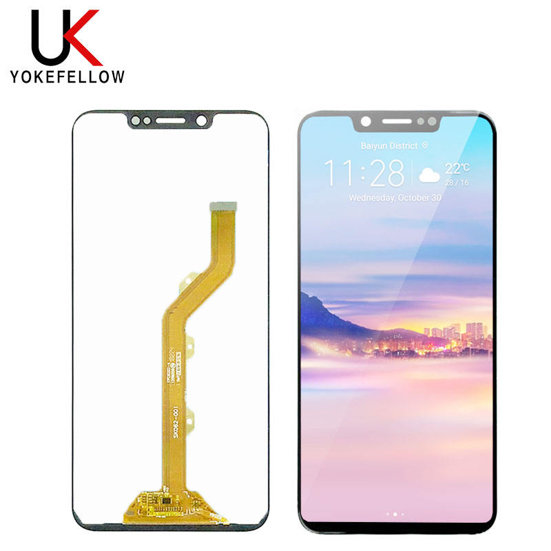 Mobile phone Lcds For Tecno Camon 11 CF7 LCD Display Touch Screen Digitizer Assembly For Tecno Camon 11 CF7 Replacement