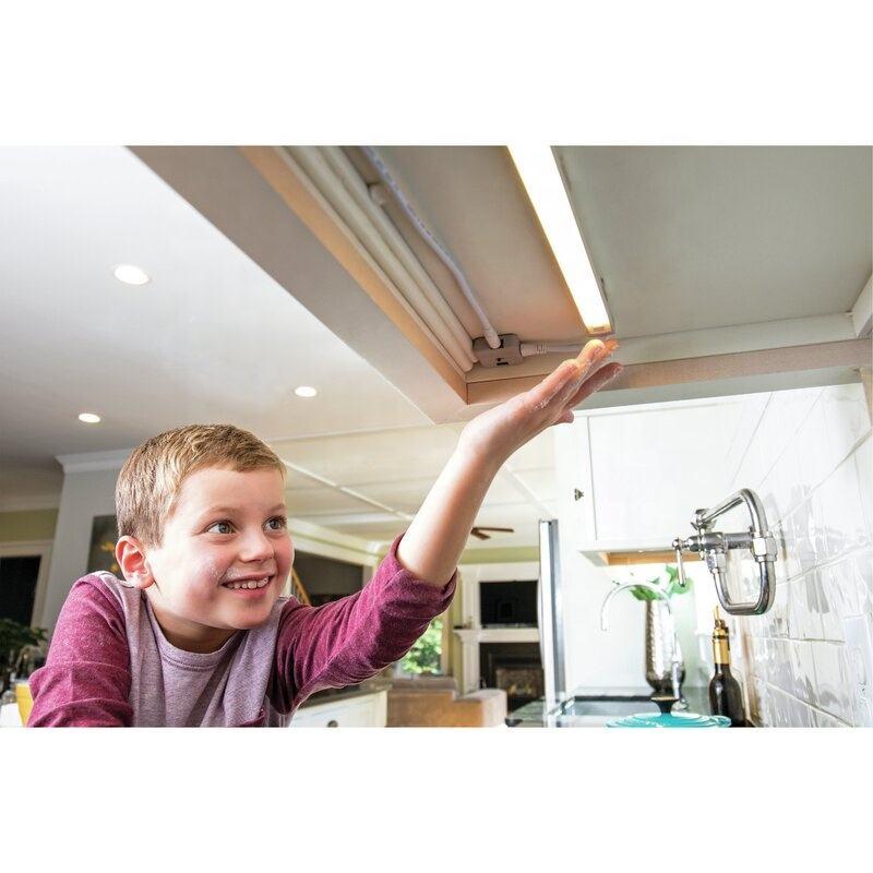 12v ac volt dimmable hand wave kitchen closet lamp pir motion sensor led under cabinet light