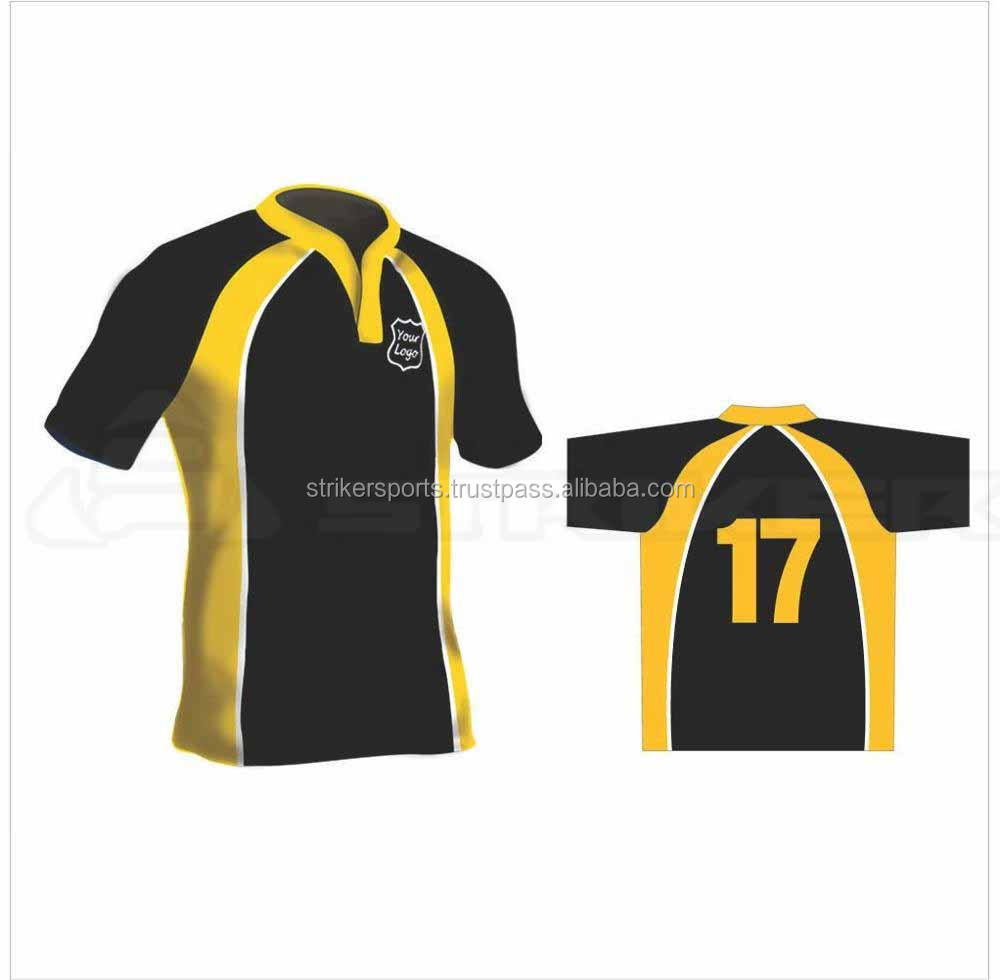 wholesale new style rugby jerseys OEM customized high quality fabric