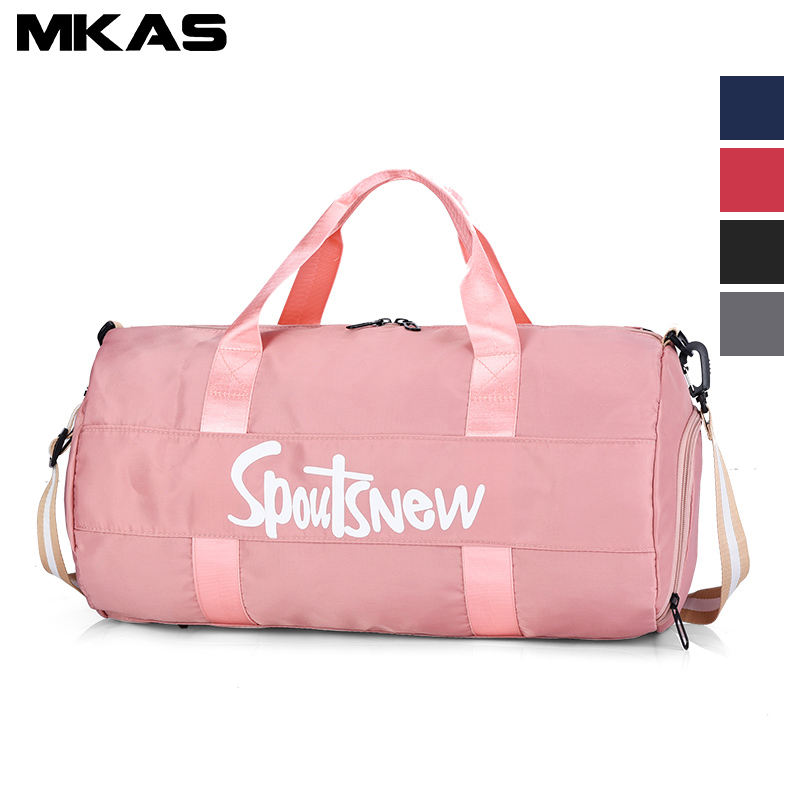 Wholesale Promotional Men Nylon Custom Logo Sports Gym Bag