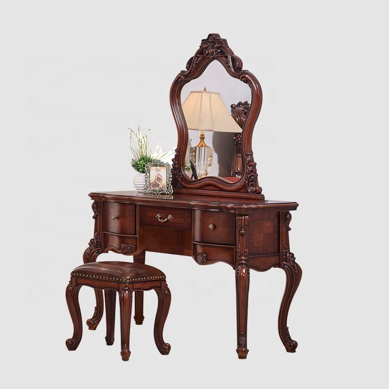 2020 Новое поступление королевские Роскошные Антикварные деревянные комоды стенд спальня туалетный столик Макияж мебель комод