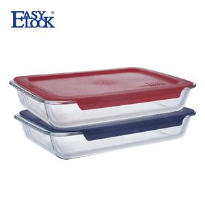 9x13/13x9 Rectangle Large Ovenproof Glass Baking Dish/Pan/Tray for Oven