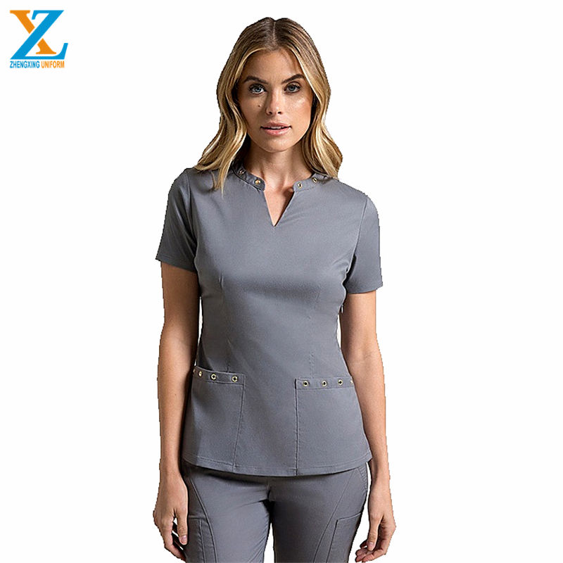 china manufacturer Wholesale design OEM V-Neck cherokee scrubs uniforms