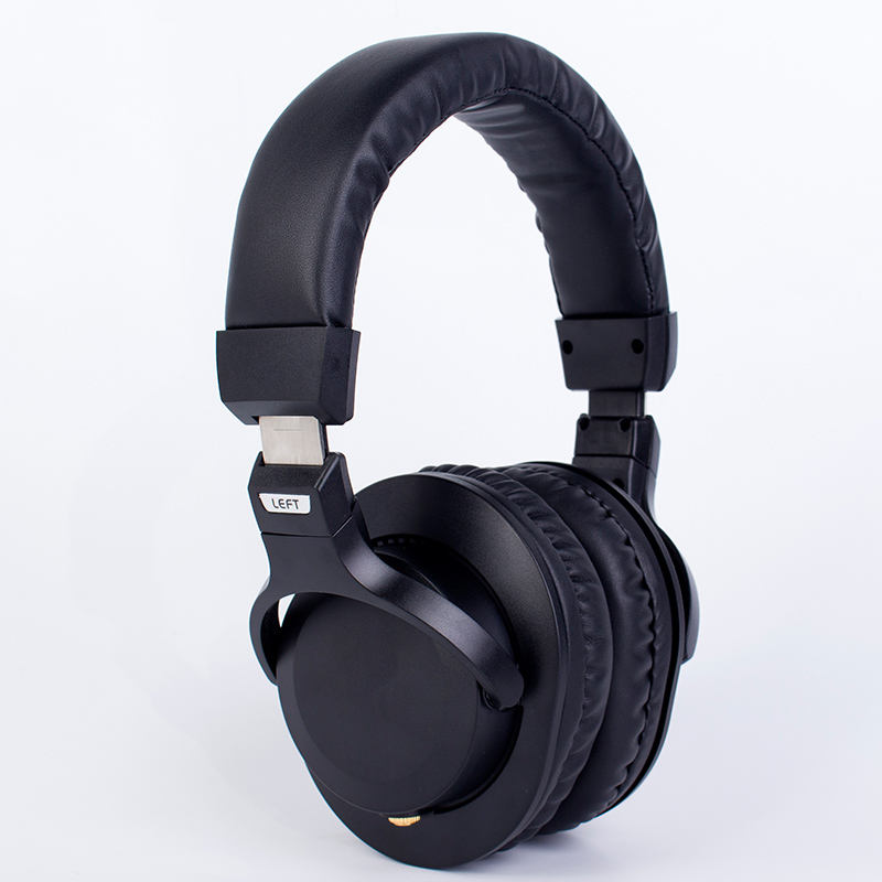 wholesaler professional wired stereo Over-ear headset studio DJ monitor headphones for mixer CDJ computer recording