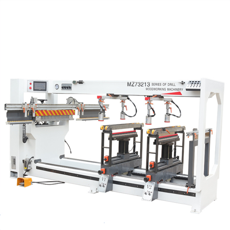 Economic cnc horizontal woodworking furniture wood drilling machine wood boring machine with fast speed
