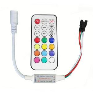 RF MINI 21 llaves WS2812B WS2811 Digital RGB controlador LED