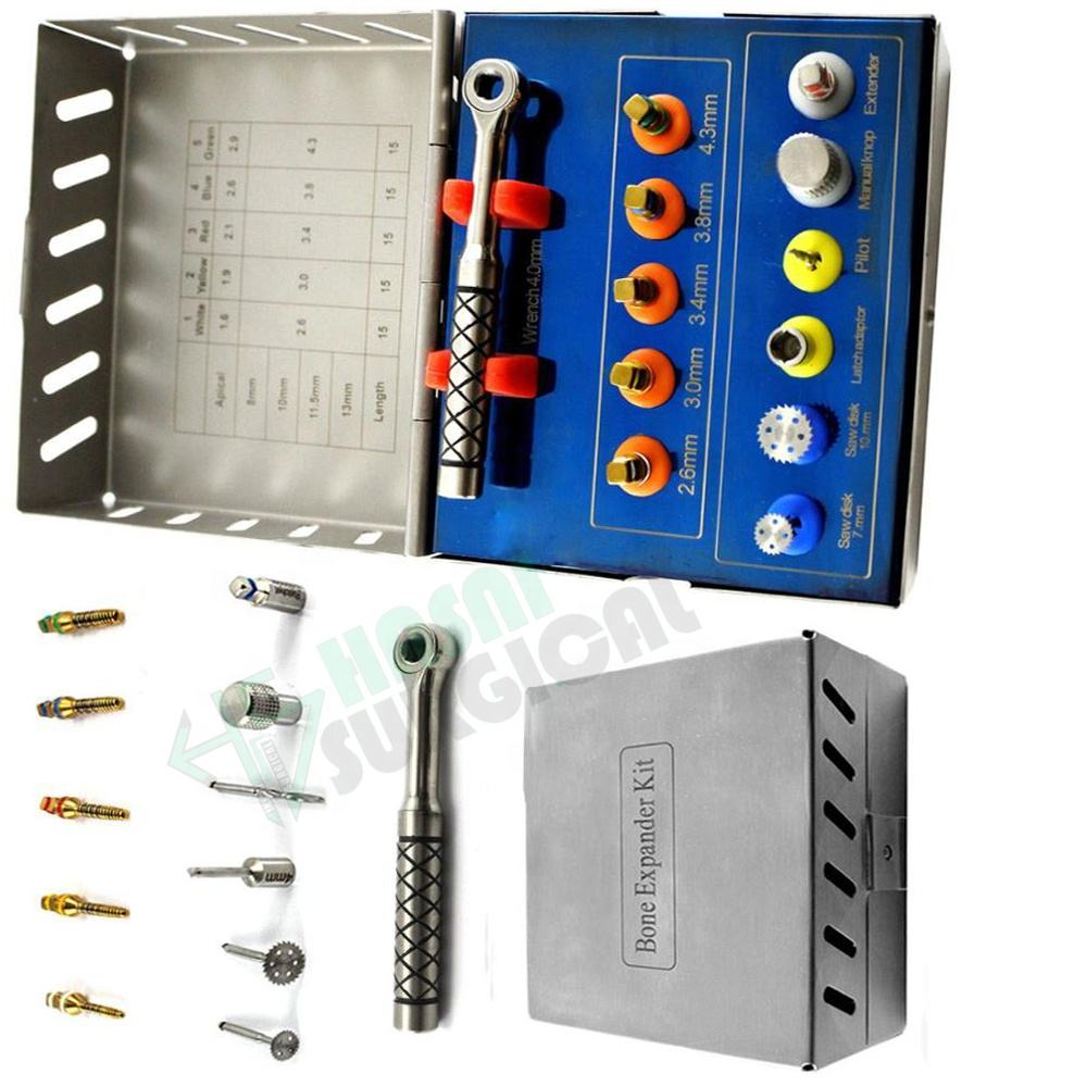 Ce approved 11 pcs dental implant drill kit dental implant bone expander kit