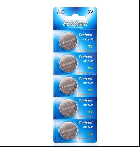 Lithium Button Cell Battery 3V CR2450 CR2032 CR2477 CR2025 Coin Cell Wide Temperature / High Temperature
