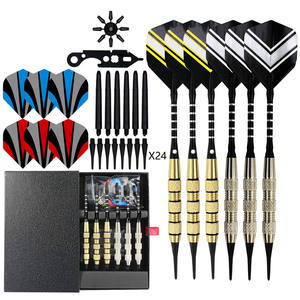 Soft tip darts with dart case with high quality