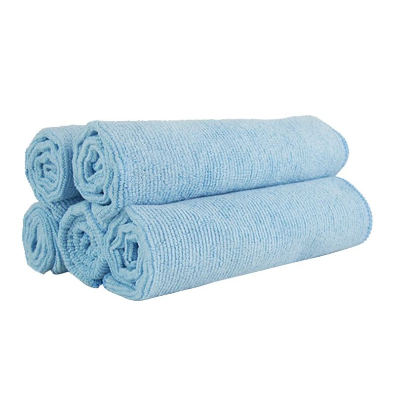 Hot sale super absorbent jacquard microfiber pearl clean towel jacquard microfiber clean cloth microfiber household towel
