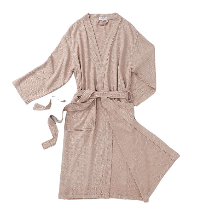 Bamboo Fiber Robe Women Bath Shower Robes For hotel Wedding Party Bathrobe