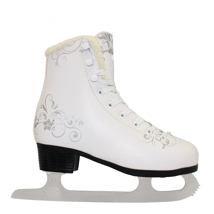 ice figure skate for professional skate player New design upscale hot sale Fixed size ice figure skate shoes for ice rink