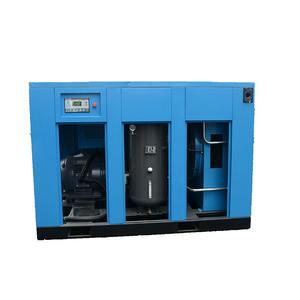 سرعة إصلاح حقن الزيت 110kw ضاغط 208 فولت 116psi نوع المسمار لهندسة الطاقة