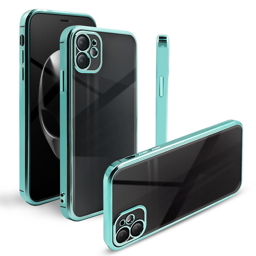 2020 Mobile Cover Lieferant Clear Galvani sierte TPU Handy hülle für Apple iPhone 12