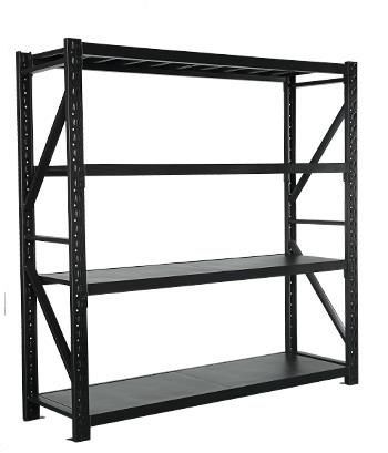 easy-install height adjustable 5 layers metal storage rack heavy Duty Metal Warehouse Storage shelf system