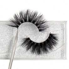2020 New Arrival 3d Mink Eyelashes False Silk Synthetic Eye Lashes Private Label Custom Packaging Box Faux 3d Mink Lashes