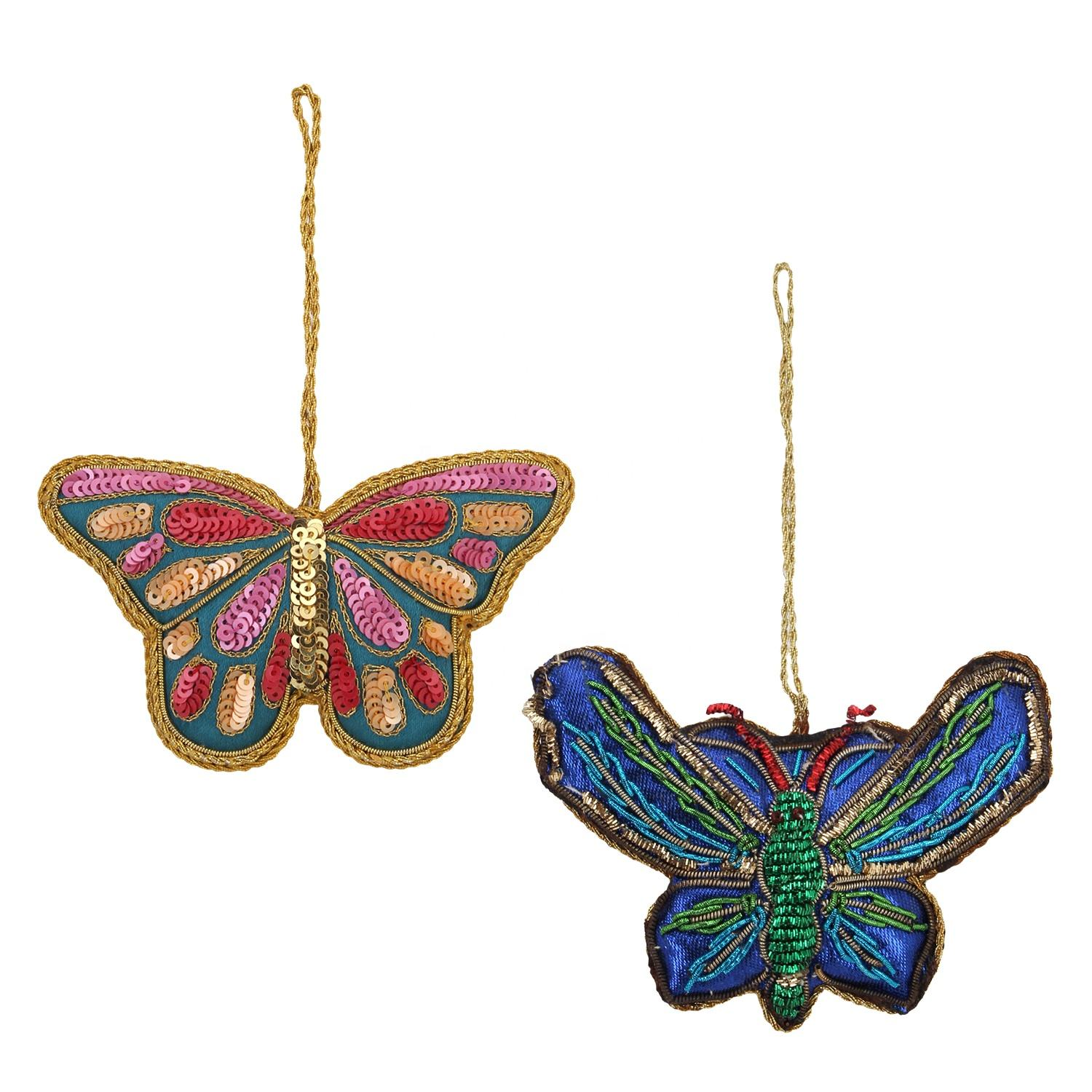 Butterfly Shape Christmas Tree Decorations gift items Hanging Ornament