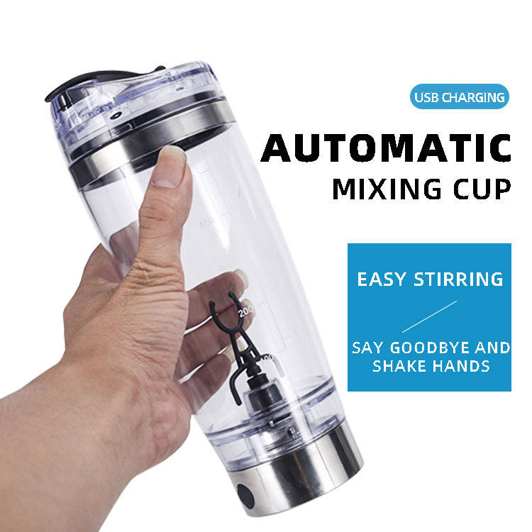 450m/600mll USB style Bodybuilding Gym Protein Shaker Bottle Electric Protein Shaker Cup bottle Mixer Smart shaker bottle