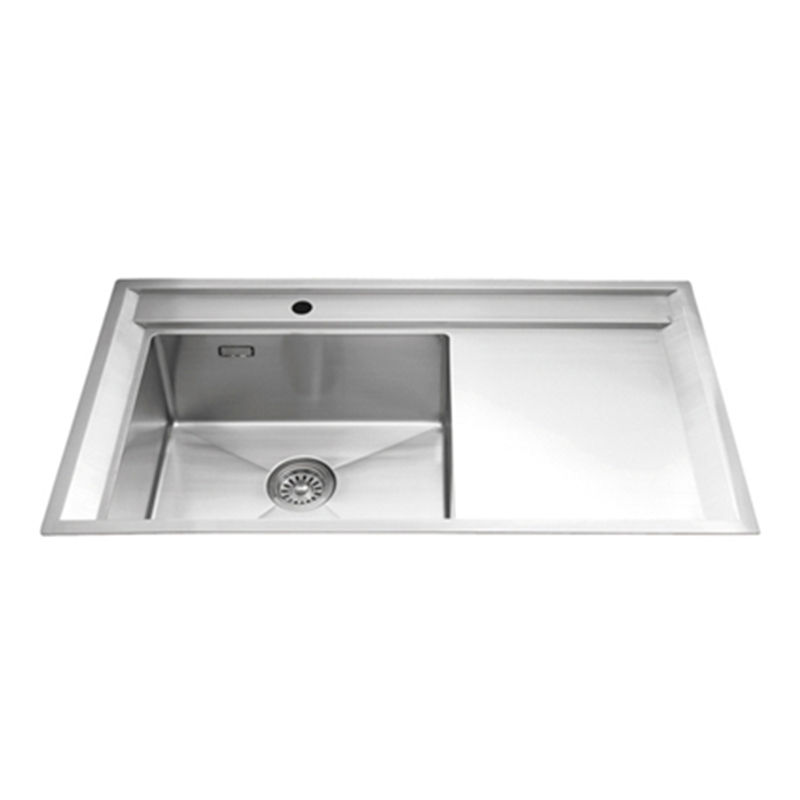 Everpro SDH-124 Good quality fabrication custom stainless steel kitchen commercial sink with drainer