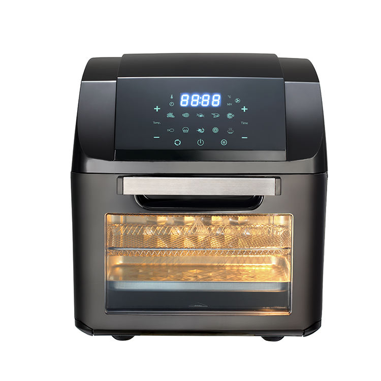 High grade touch panel oil free digital air fryer oven