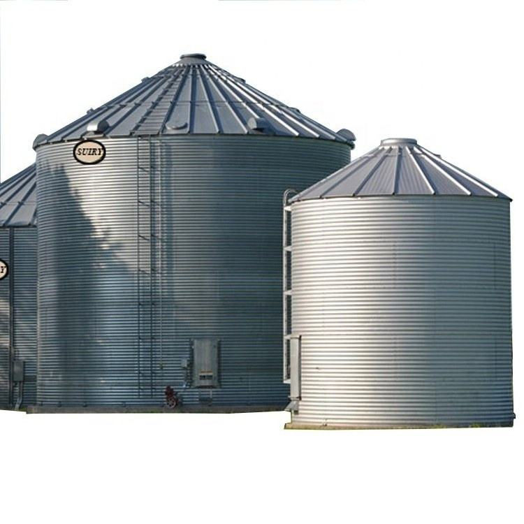 200ton 500tons 1000tons grain storage steel silo
